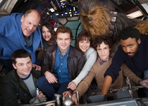 Woody Harrelson - Phil Lord - Christopher Miller - Donald Glover - Alden Ehrenreich - Phoebe Waller-Bridge - Emilia Clarke - Joonas Suotamo - Untitled Han Solo Star Wars Anthology Film