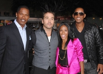 Will Smith - Jada Pinkett Smith - Jamie Foxx - Jeremy Piven - El reino
