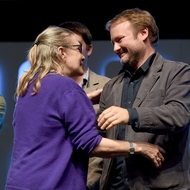 Carrie Fisher - Rian Johnson - Rogue One: Una Historia de Star Wars