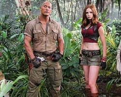 'Jumanji 2: Welcome to the Jungle' sorprende a los fanáticos con su primer tráiler