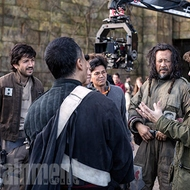 Wen Jiang - Diego Luna - Donnie Yen - Gareth Edwards - Rogue One: Una Historia de Star Wars