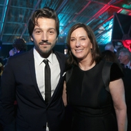 Kathleen Kennedy - Diego Luna - Rogue One: A Star Wars Story