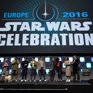 Carrie Fisher - Mark Hamill - Kathleen Kennedy - Rian Johnson - Phil Lord - Christopher Miller - Kiri Hart - Pablo Hidalgo - Alden Ehrenreich - John Boyega - Rogue One: Una Historia de Star Wars