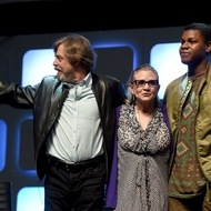 Carrie Fisher - Mark Hamill - John Boyega - Rogue One: Una Historia de Star Wars