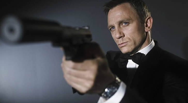 ¡Daniel Craig volverá como James Bond en 2019!