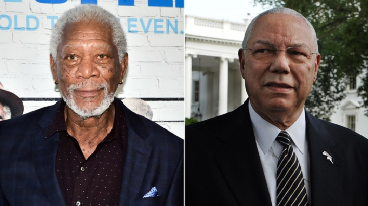 Morgan Freeman interpretará a Colin Powell en biopic